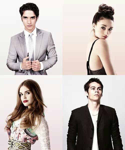 Scott, Alison, Lydia, stiles