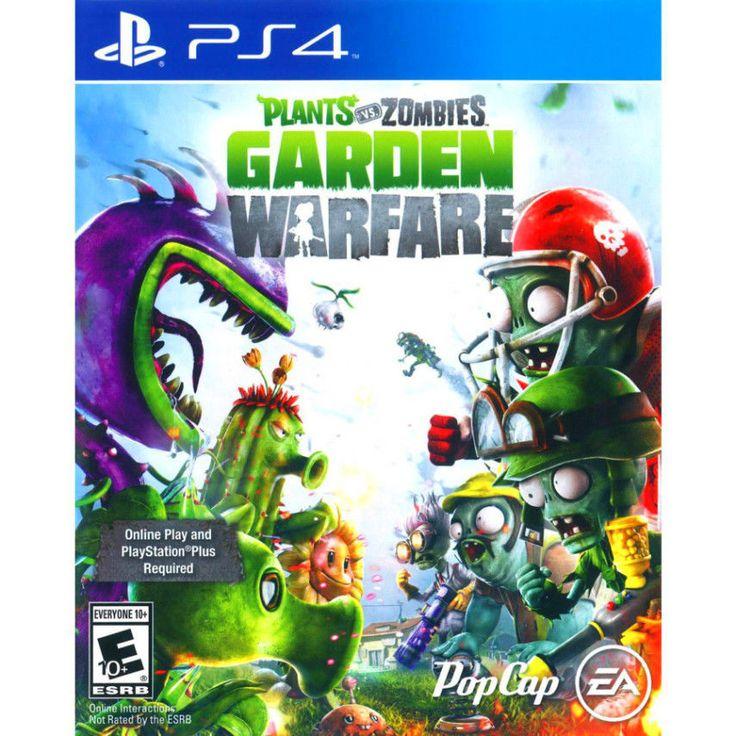 Plants Vs Zombies Garden Warfare Playstation 4 New 2014 Sealed Game!   eBay