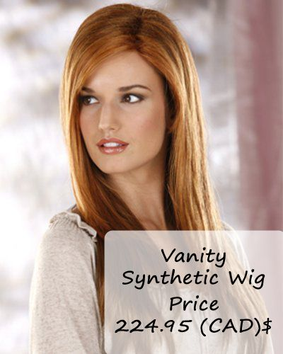 Vanity Synthetic Wig Type: #Synthetichairwig Price 224.95 (CAD) $ Collection: Mane Issue by Henry Margu http://www.hairandbeautycanada.ca/vanity-synthetic-wig/ #syntheticwig   #longwigs   #syntheticwigscanada   #wigs