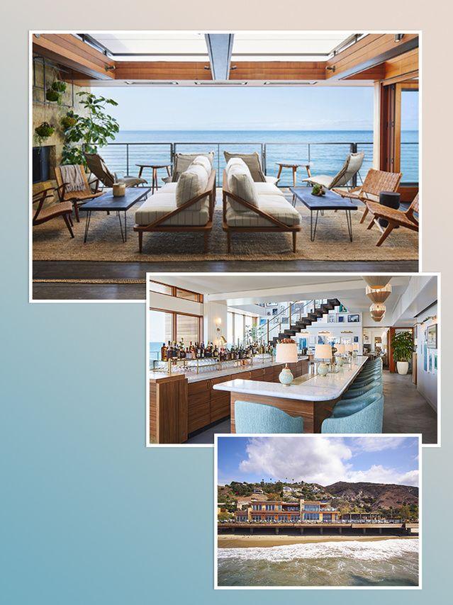 À même la plage la plus VIP de Malibu, le groupe Soho House a installé le club le plus privé qui soit.