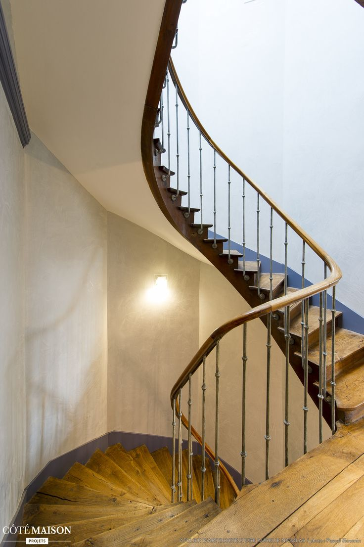269 best Escaliers images on Pinterest | Stairs, Stairways and ...