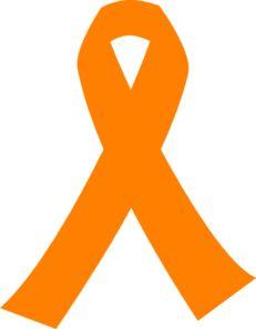 Orange Cancer (Leukemia) ribbon.  I want to help raise money for Leukemia research