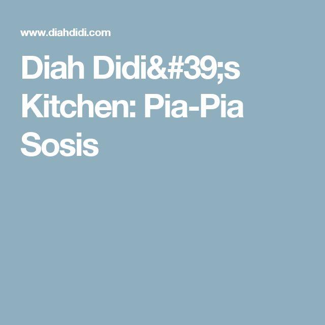 Diah Didi's Kitchen: Pia-Pia Sosis
