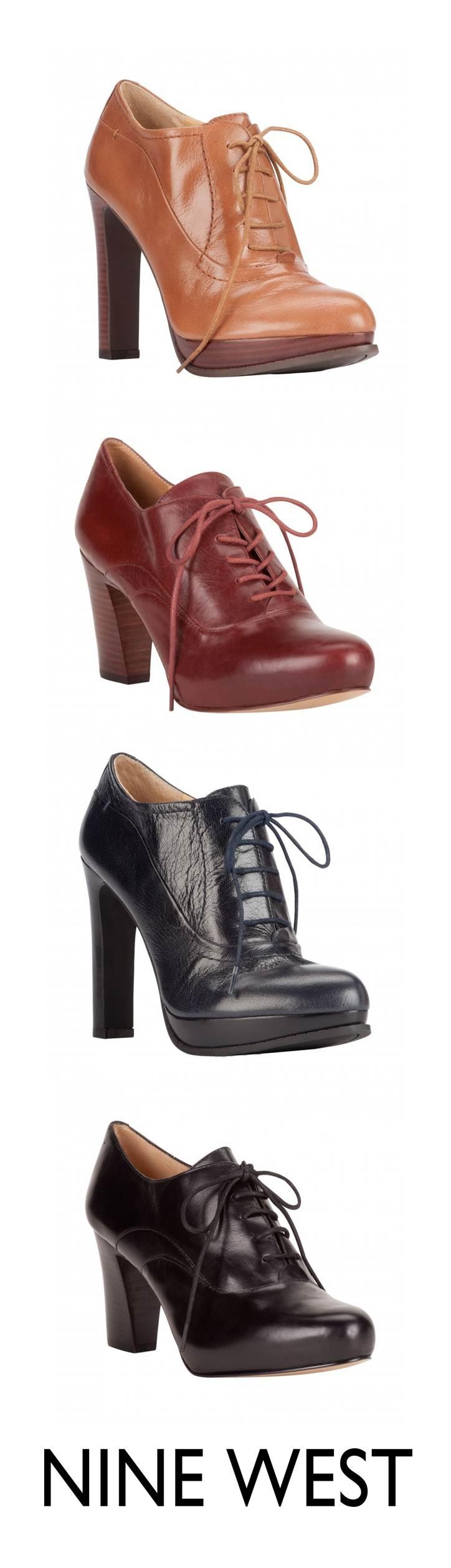 Botines con agujeta - Botas y botines - Zapatos Nine West México