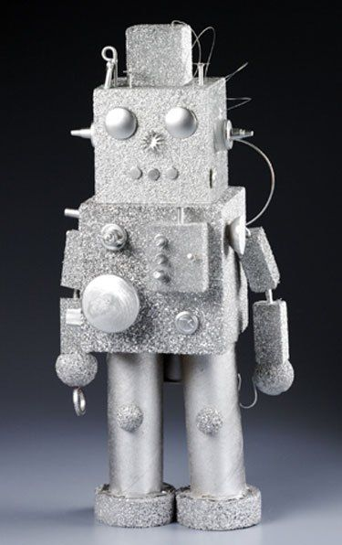 Make a recycled robot