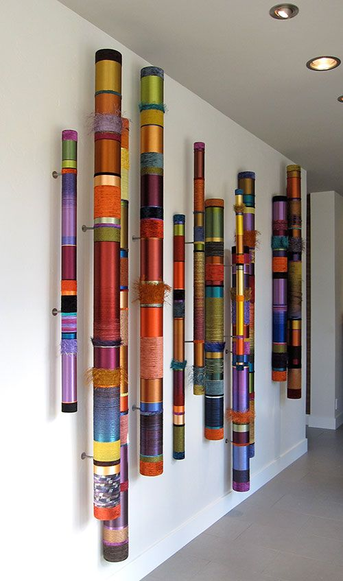 The Artwork of Myra Burg - Oboes - Linear Installations