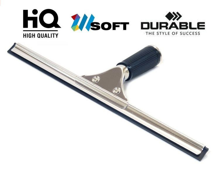 Shower Window Squeegee, Petcaree All Purpose Squeegee, Film Stainless Steel  Wiper With Blade