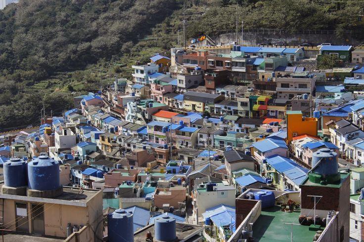 TripStories: 부산 감천문화마을(gamchon Culture Village) , Busan, South ...  #DaysInKorea #DiscoverKorea