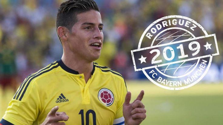 #DESTACADAS:  James Rodríguez deja Madrid; va cedido dos años al Bayern Munich - Medio Tiempo.com
