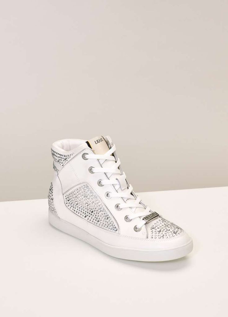 Sneakers bianche Autunno Inverno 2015-2016 - Sneakers con strass liu Jo