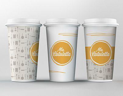 Brand Identity // Mr Cotoletta - Franchising