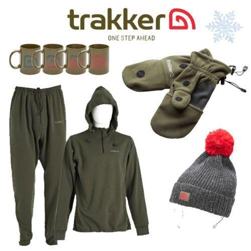 Trakker-NEW-Fishing-Winter-Clothing-Christmas-Combo-Thermals-Hat-Gloves-Mug