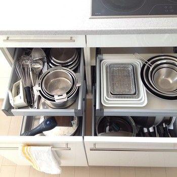 調理小物に悩む、キッチンの収納も、こんなに美しくなります!