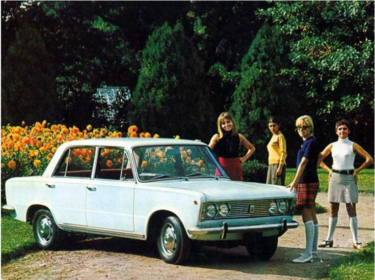 Polski-Fiat 125 P - 1968