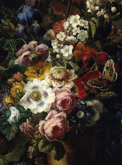 slojnotak: Francesc Lacoma y Fontanet - Vase with Flowers (1805)