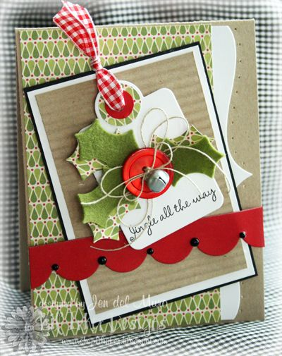 Jingle All the Way by genie1314 - Cards and Paper Crafts at Splitcoaststampers