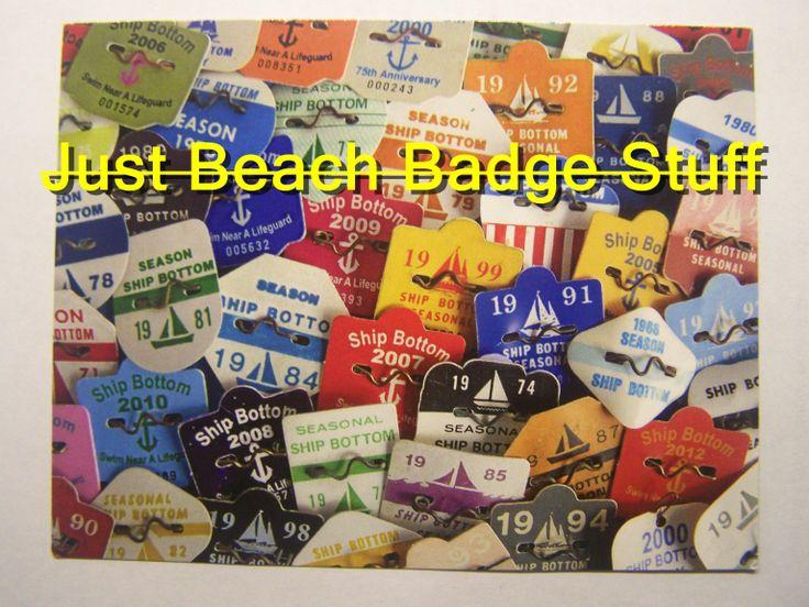 Surf City  Beach Badges