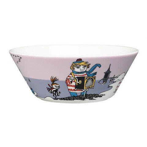 Too-ticky bowl, violet by Arabia