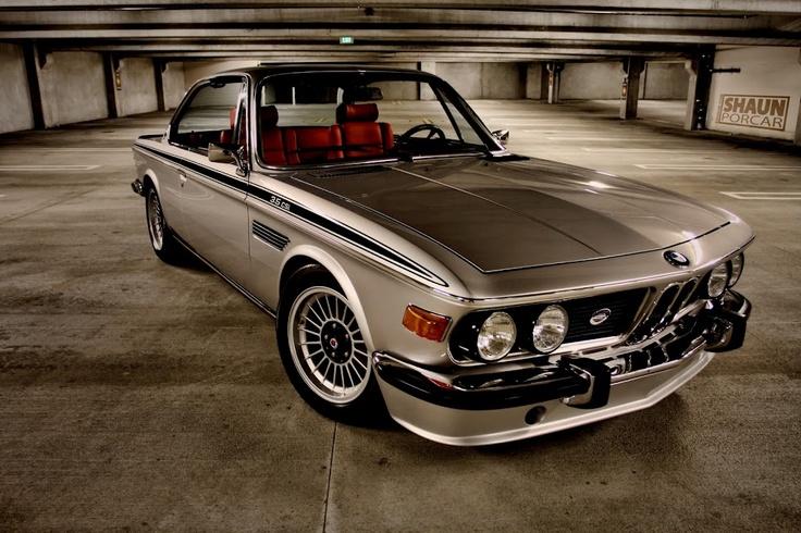 1973 BMW E9 3.0CSi turned '3.5CSi'Old Schools, Sports Cars, Classic Cars, Bmw 30, 30 Csl, Bmw 3 Series, Classic Bmw, 1973 Bmw, Bmw E9