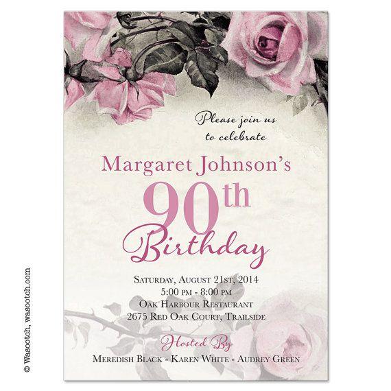 Best 25 90th Birthday Parties Ideas On Pinterest 90 Birthday