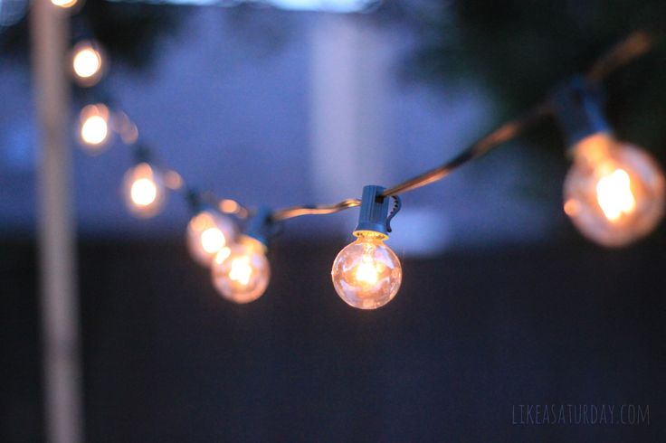 How To String Lights On A Tall Tree : 17 Best ideas about Patio String Lights 2017 on Pinterest Patio lighting, Outdoor patio string ...
