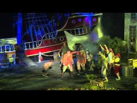 Forestillingen Jakten på den Magiske Diamant - Kaptein Sabeltann - YouTube