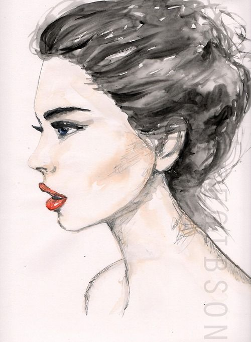 Side Face Line Drawing : Best ideas about side face drawing on pinterest