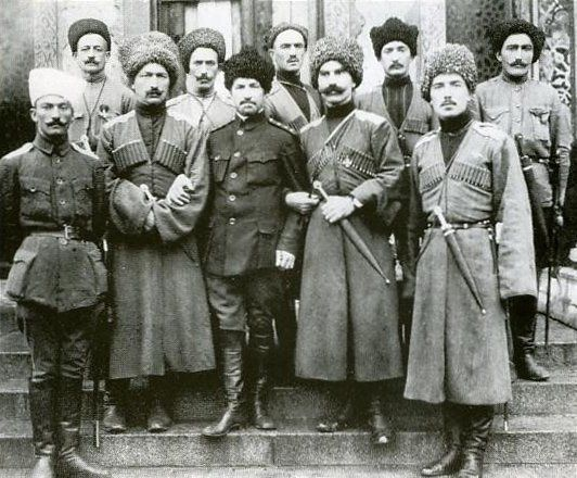 WWI, 1917; Karachay soldiers of the Russian Savage Division- a cavalry unit consisting of central asian volunteers. -The Great War (@WW1_Series) | Twitter