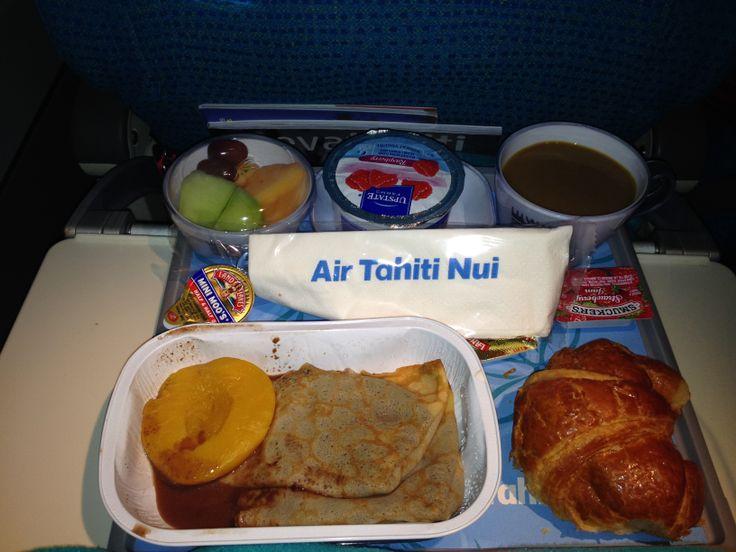 Air Tahiti Nui flight breakfast. Better than most.