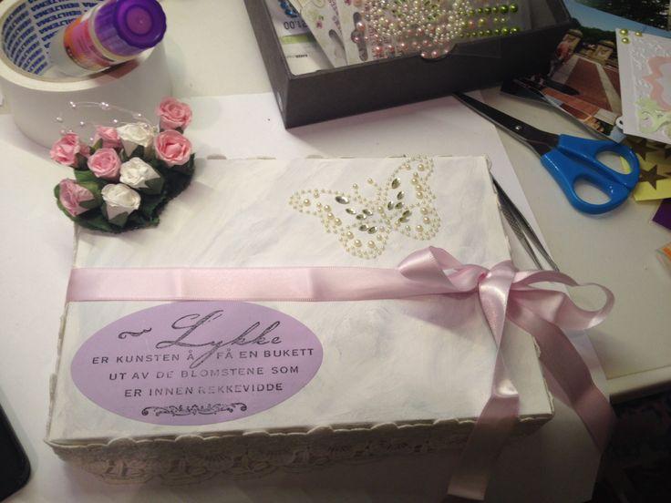 Box for birthdaycard