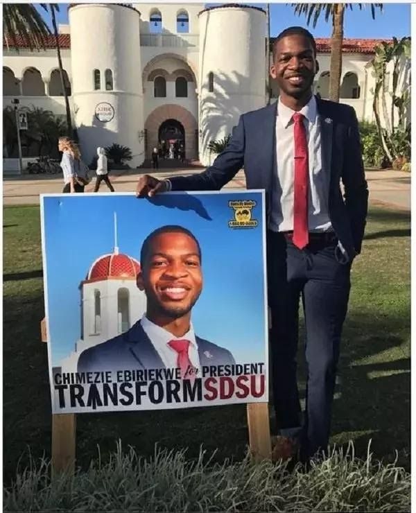 Nigerian emerges Students Union President in California university