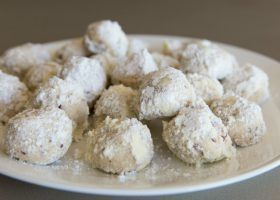 Amazing Snowballs/Butternuts/Mexican Wedding Cookies, Russian Tea Cookies, Italian  Wedding Cookies
