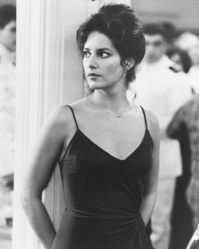 Debra Winger in An Officer and a Gentleman (1982).  She was awesome in this movie. I hate we didn't get to see her grow into one of best.  She is missed but probably much happier out of the lime light.