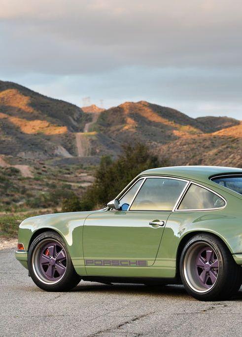Porsche 911 Singer Brooklyn. Half German, half American. Made in LA, California, by a Brit lover.