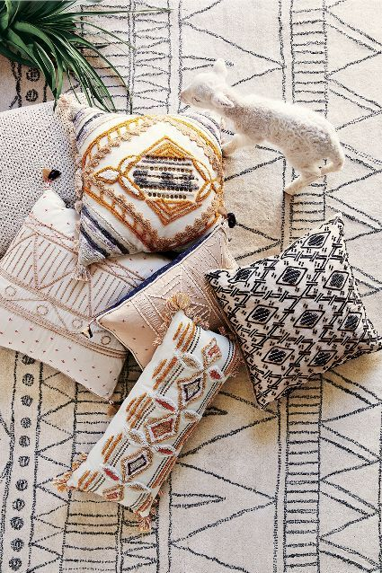 Etched Diamond Pillow #anthrofave