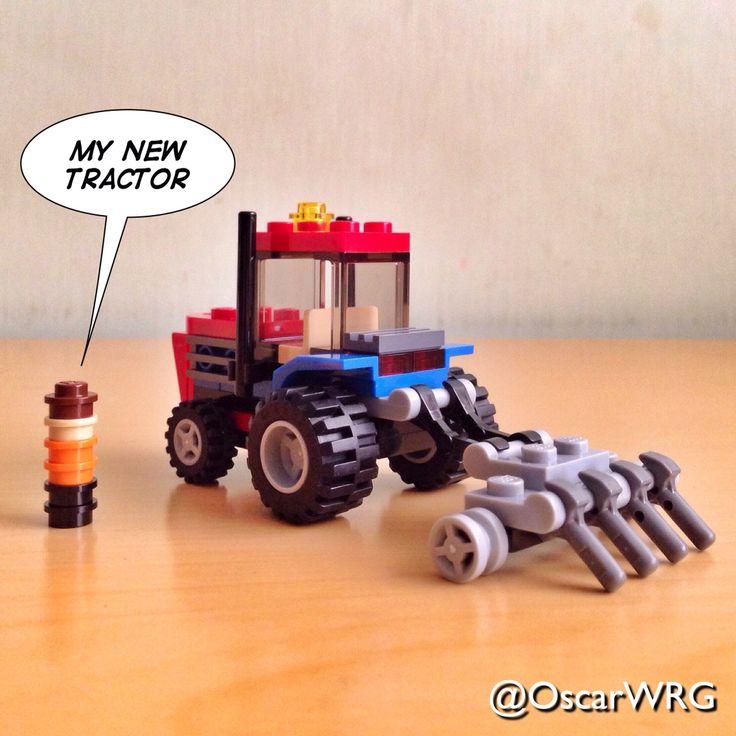 #LEGO #Creator #LEGOcreator #Tractor #30284 #Microbuild #Farmer @lego_group @lego @bricksetofficial @bricknetwork @brickcentral