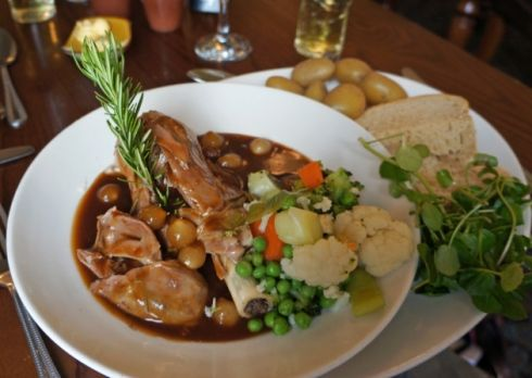 #Dining Out - The Hardwick Inn, #Chesterfield. #Main