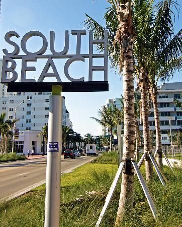 South Beach - a collection of wonderful Art Deco architecture.