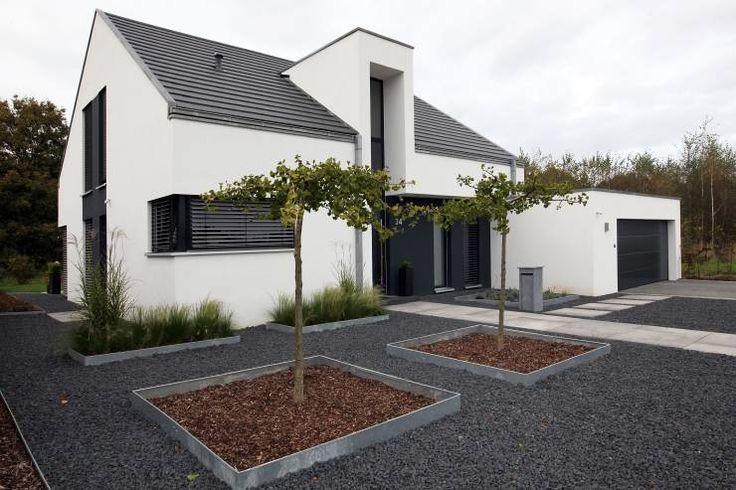 Projekty, Minimalistyczny Domy zaprojektowane przez Architektur Jansen