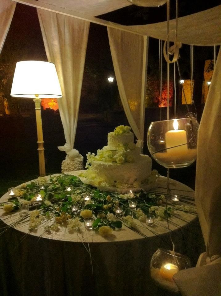 Great cake table