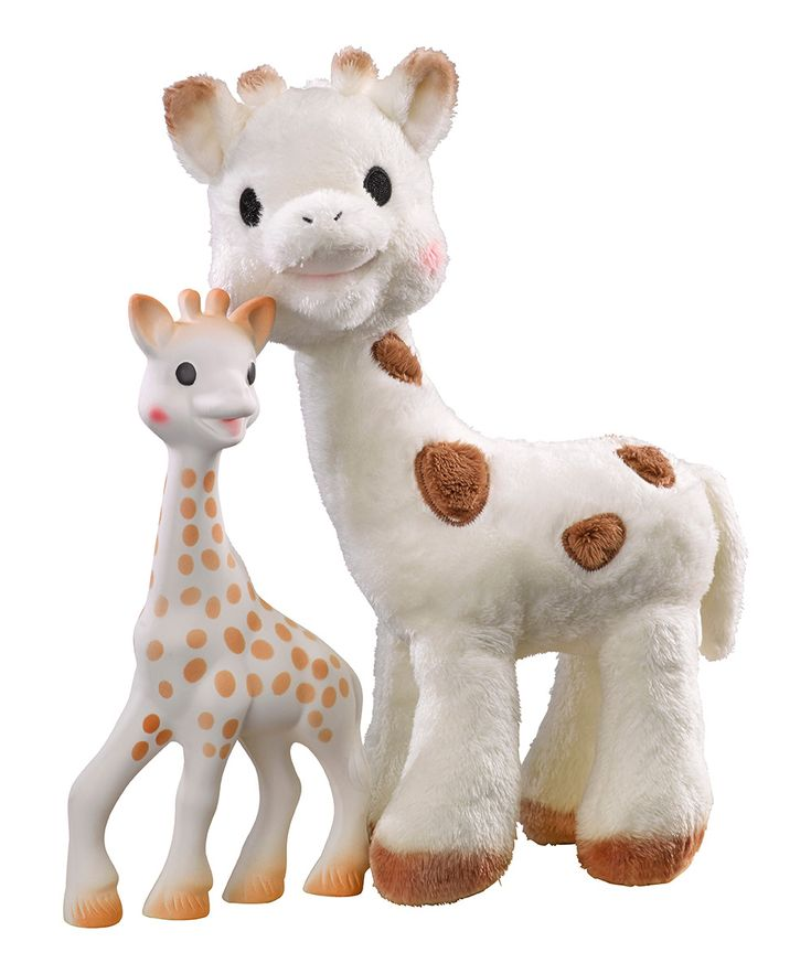 Sophie Giraffe Teether & Plush Toy Set