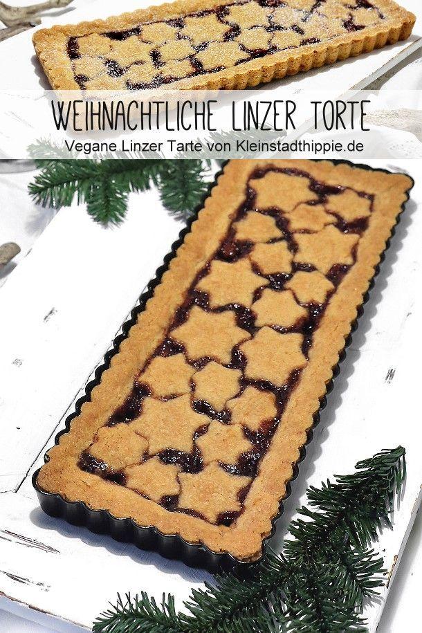 Vegane Weihnachtliche Linzer Torte Linzer Tarte Von