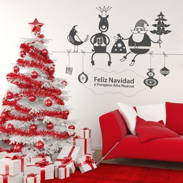 25 best vinilos decorativos navidad images on pinterest - Decorativos para navidad ...