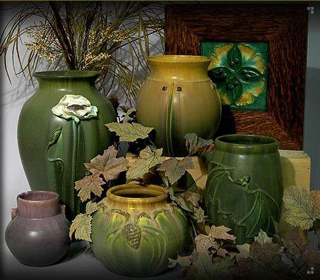 arts & crafts pottery