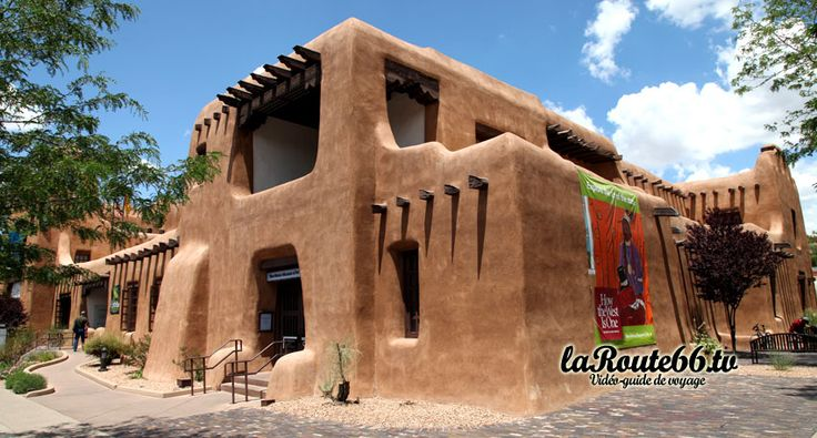 New Mexico Museum of Art, Santa Fe http://usroute66.wordpress.com/route-66-nouveau-mexique/