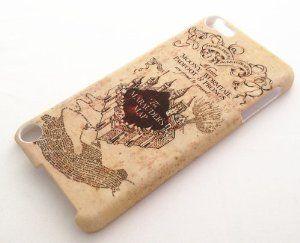 Hogwarts Marauder's Map Unique Design ipod case