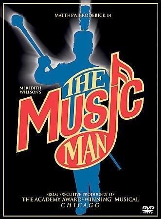 Meredith Willson's The Music Man (TV Film) (2003 / DVD) Matthew Broderick, Kristin Chenoweth, Victor Garber, Debra Monk, Molly Shannon