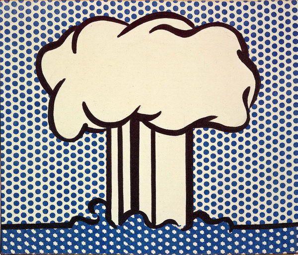 Roy Lichtenstein, Atomic Landscape, 1966