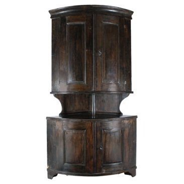 Check out this item at One Kings Lane! 19th-C. Belgian Corner Hutch