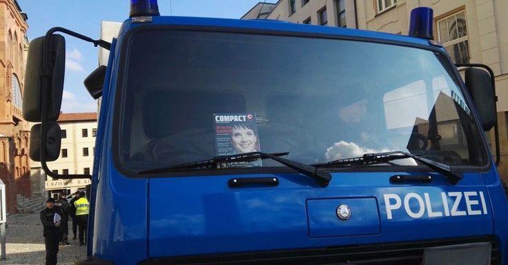 """Neutralitätsprinzip verletzt? Polizisten wegen """"COMPACT-Magazin"""" strafversetzt - http://www.statusquo-news.de/neutralitaetsprinzip-verletzt-polizisten-wegen-compact-magazin-strafversetzt/"""